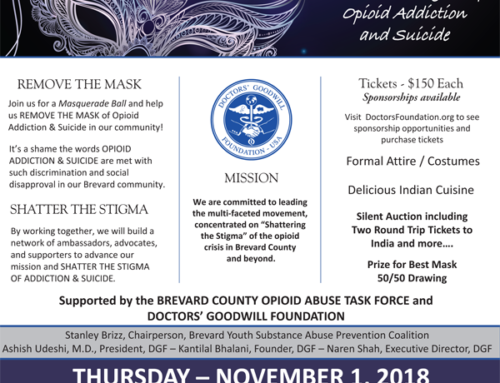 Masquerade Ball to Benefit Opioid Crisis and Suicide Prevention